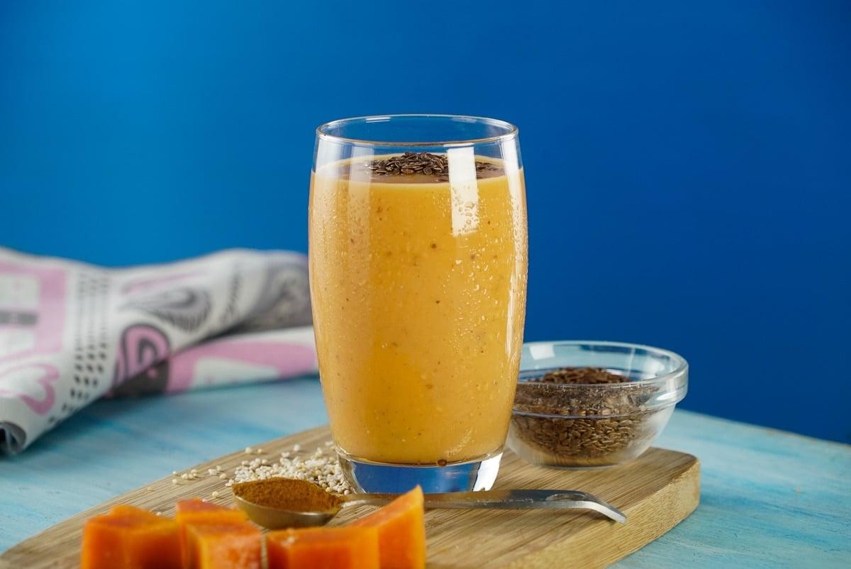 Licuado de Papaya - ¿Cómo hacer un Licuado de Papaya 'Lechosa' y Linaza?