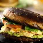 Sandwich de Portobello y pollo 2 - ¿Cómo preparar un Sandwich de Portobello y Pollo? Receta para Diabéticos