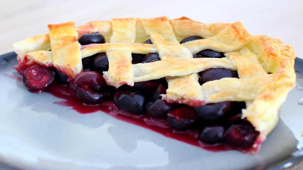Cherry pie tarta 1024x576 - How to Make The Best Cherry Pie Recipe
