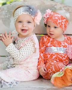 Giggle Moon Baby - 2 Girls Outfits