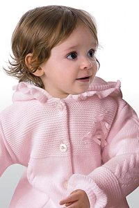 Sarah Louise Baby Girl's Sweater