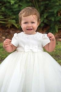 Sarah Louise Girls Christening Dress