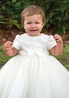 Sarah Louise Girls Christening Dress