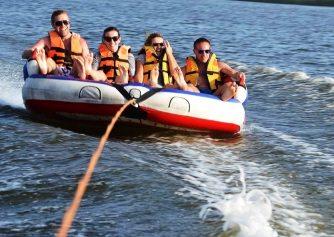 tube-ride-water-sports-Malu Banna Watersports Activities Bentota Sri Lanka