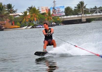water-ski Malu Banna Watersports Activities Bentota Sri Lanka