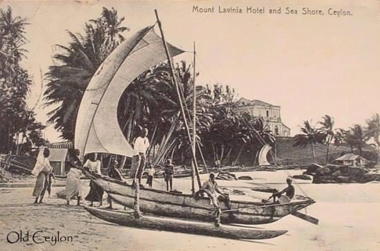 Old waterways in Ceylon