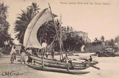 Old Ceylon Boats