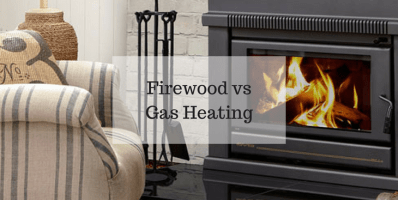 Firewood vs Gas Heating