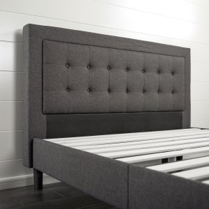 Zinus-Upholstered-Premium-Platform-spacing