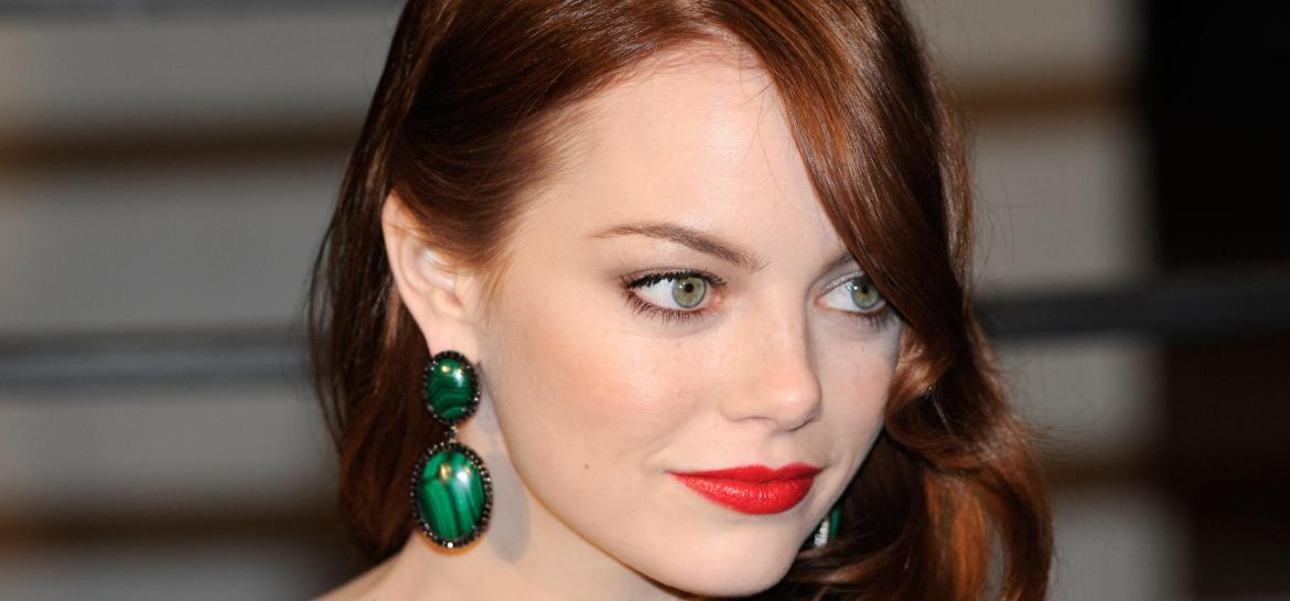 Emma Stone & Her Little Green Monster