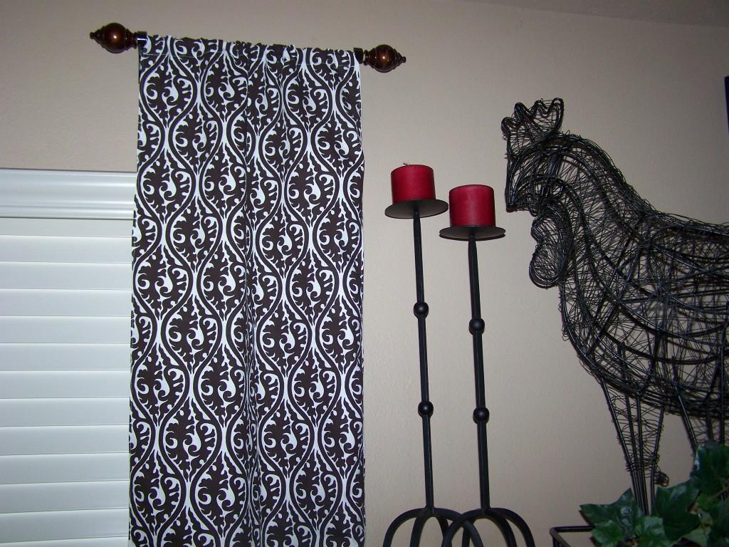 Short Curtain Rods
