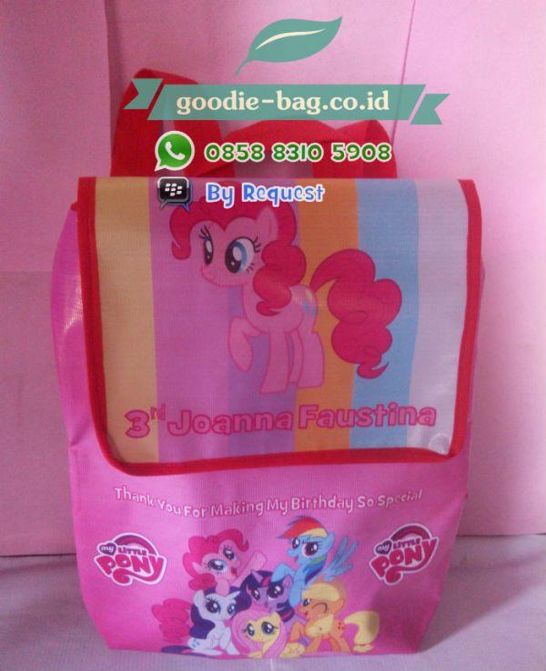 Goodie Bag Tas Souvenir Ulang Tahun Anak My Litle Pony