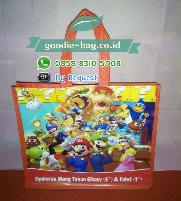 Tas Ulang Tahun Anak Mario Bros