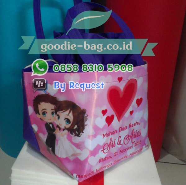 souvenir tas murah buat souvenir pernikahan