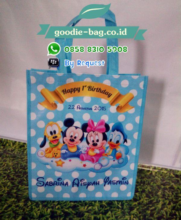 Tas Ulang Tahun Anak Baby Mickey