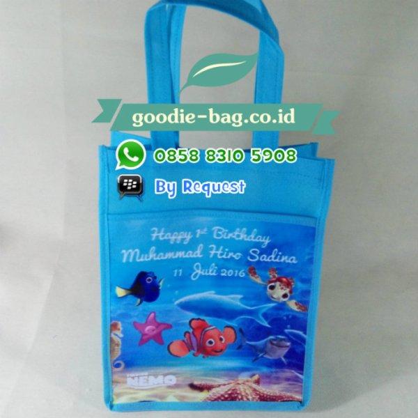 tas ulang tahun anak finding dory nemo ikan animal lucu jakarta depok jayapura papua makassar