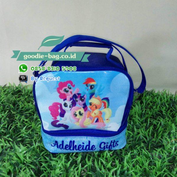 souvenir ulang tahun little pony lunch box