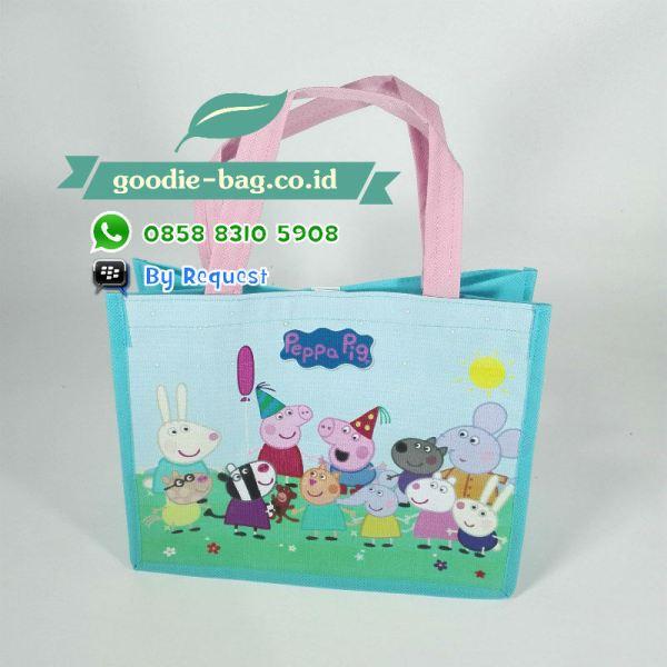 tas ulang tahun anak peppa pig murah jakarta