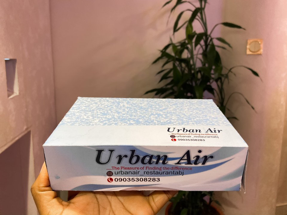 Complimentary pack from urban air