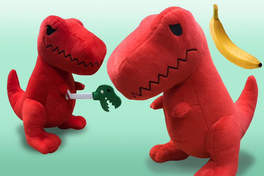 Your Chance to Win a T Rex Plush!