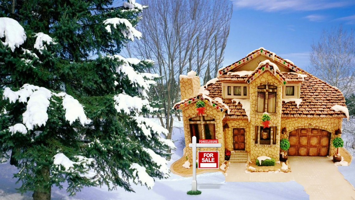 winter house gingerbread 1