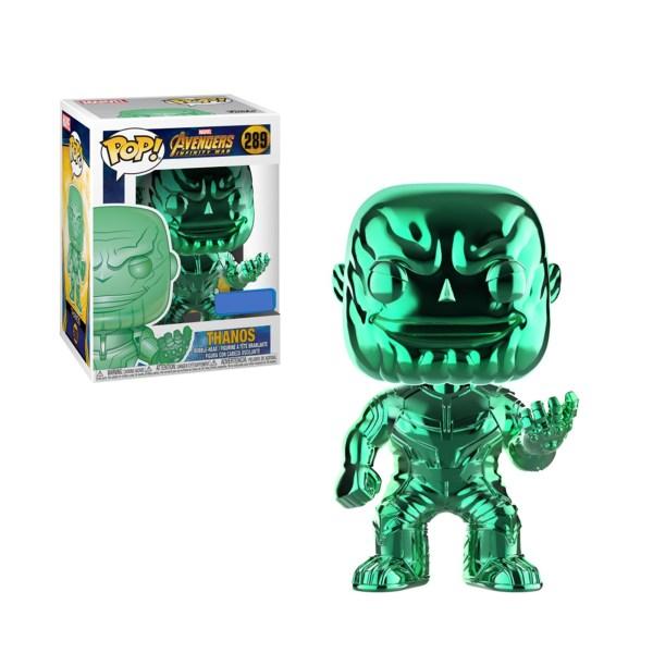 Figurine Funko Pop Thanos Chrome Vert – 289