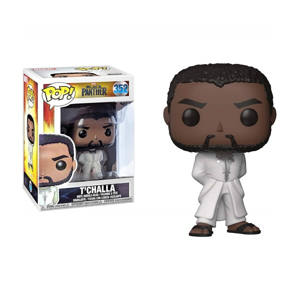 Figurine Funko Pop T'Challa White Robe – 352