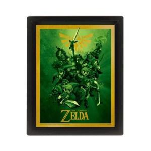 Cadre effet 3D «LINK»