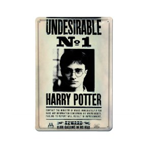 Plaque murale « HARRY INDESIRABLE »