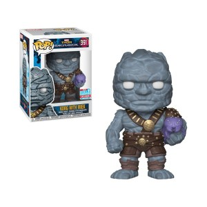 Funko Pop Marvel Thor Ragnarok Korg (With Miek) – 391
