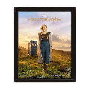 Cadre effet 3D «DOCTOR WHO»