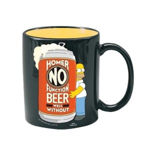Mug « HOMER NO FUNCTION »