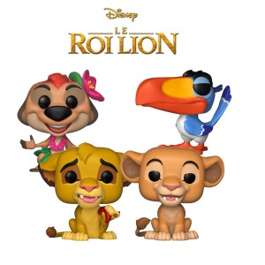 Bundle 4 pop « ROI LION «