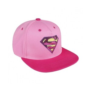Casquette snapback « SUPERMAN » rose