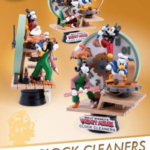 "Diorama ""CLOCK CLEANERS"""