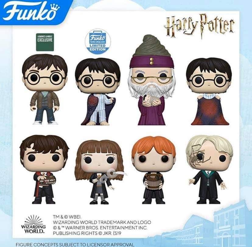 Annonces Funko Pop london toy fair 2020 Harry Potter