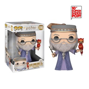 Funko Pop Harry Potter « Albus Dumbledore with Fawkes » (25cm) – 110