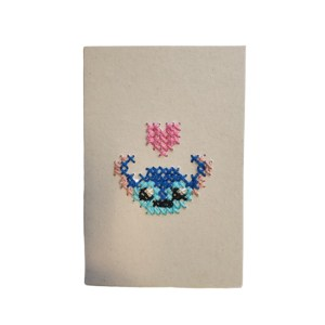 Carte de voeux « STITCH HEART »