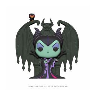 Maleficent on throne