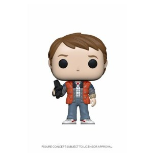 Marty McFly in puffy vest