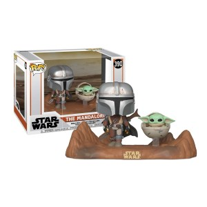 The mandalorian with The child (Baby Yoda) – 390