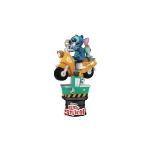 Figurine Diorama Disney STITCH COIN RIDE