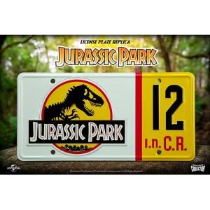 Plaque Officielle «JURASSIC PARK»