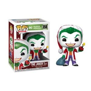 Funko Pop Joker as Santa – 358