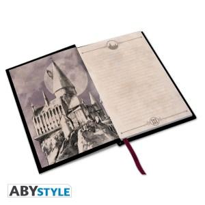 Cahier Harry Potter A5 «Poudlard» Premium