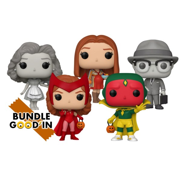 Figurine Funko Pop Funko Pop Marvel Wandavision – Bundle 5 Pop