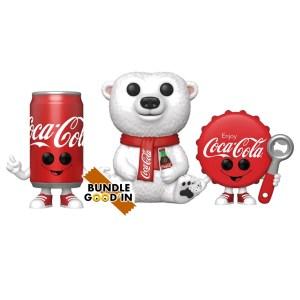 Funko Pop Coca Cola – Bundle 3 Pop