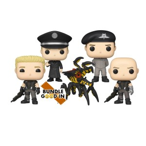 Funko Pop Starship Troopers 2020 – Bundle 5 Pop