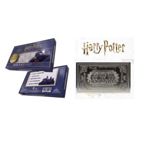 Billet Train Harry Potter POUDLARD EXPRESS argent