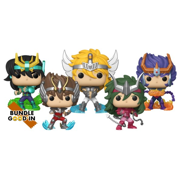 Figurine Funko Pop Funko Pop Saint Seiya – Bundle 5 Pop